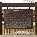 Nevada City Sign