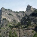 Flathead Buttress and Shoshone