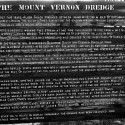 Mount Vernon Dredge Sign
