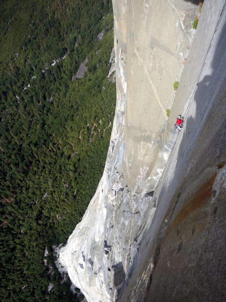Still Climbing The Nose El Capitan Michaelsulock Com