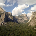 Yosemite w/ Clouds